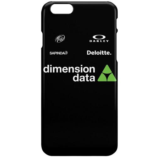 dimension data(ディメンションデータ)iPhoneカバー(Aデザイン / ブラック)