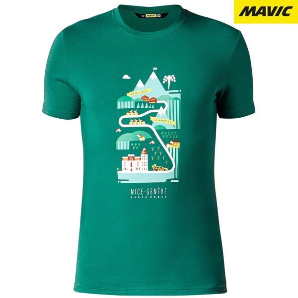 MAVIC(マビック)HAUTE ROUTE Tシャツ(グリーン)