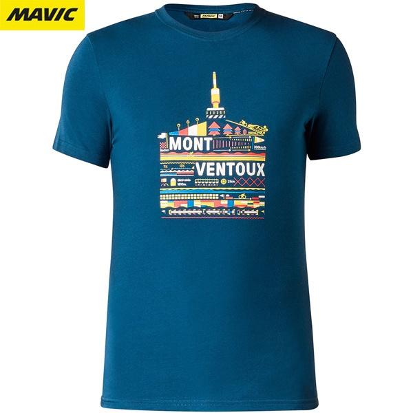 MAVIC(マビック)VENTOUX(ヴァントゥ)Tシャツ(ポセイドンブルー)