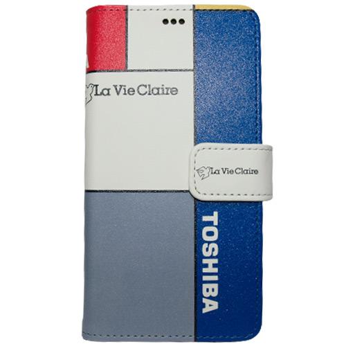 La Vie Claire(ラヴィクレール)iPhoneレザーフリップカバー(Bデザイン / チームカラー)
