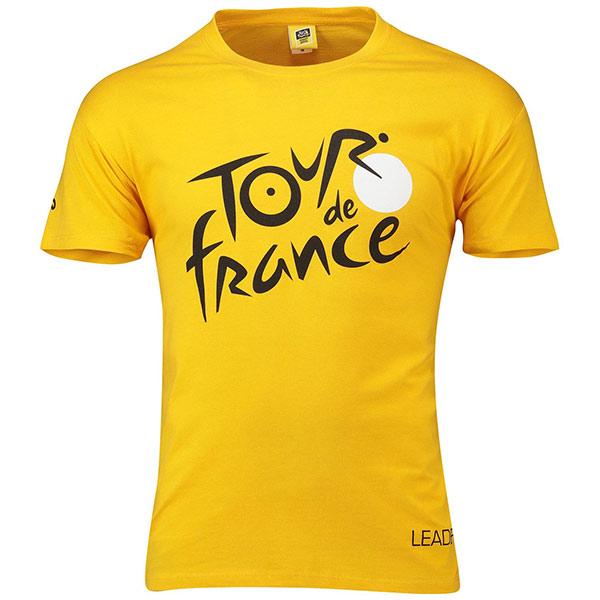 TOUR de FRANCE(ツールドフランス)Tシャツ(Leader/イエロー)