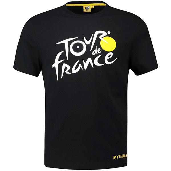 TOUR de FRANCE(ツールドフランス)Tシャツ(ブラック)