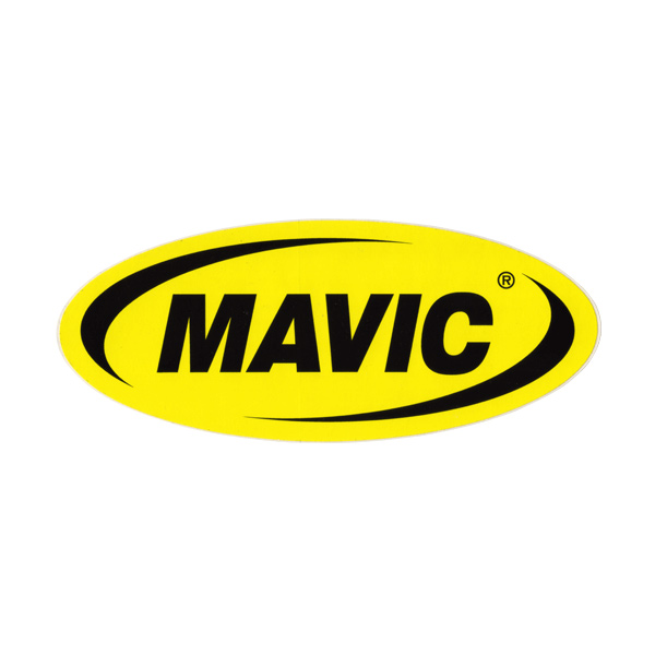 MAVIC(マビック)ロゴステッカー(W21.5/H8.9)