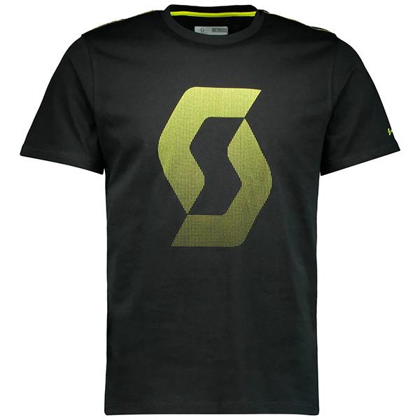 SCOTT(スコット)ICON FACTORY TEAM(アイコン ファクトリーチーム)Tシャツ(ブラック / イエロー)
