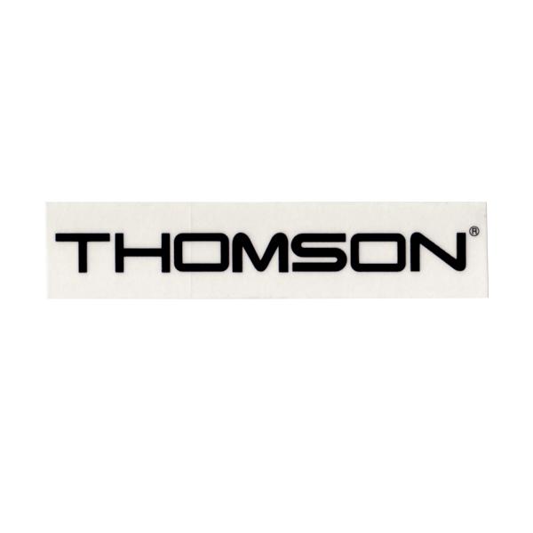 THOMSON(トムソン)ロゴステッカー(ブラック)