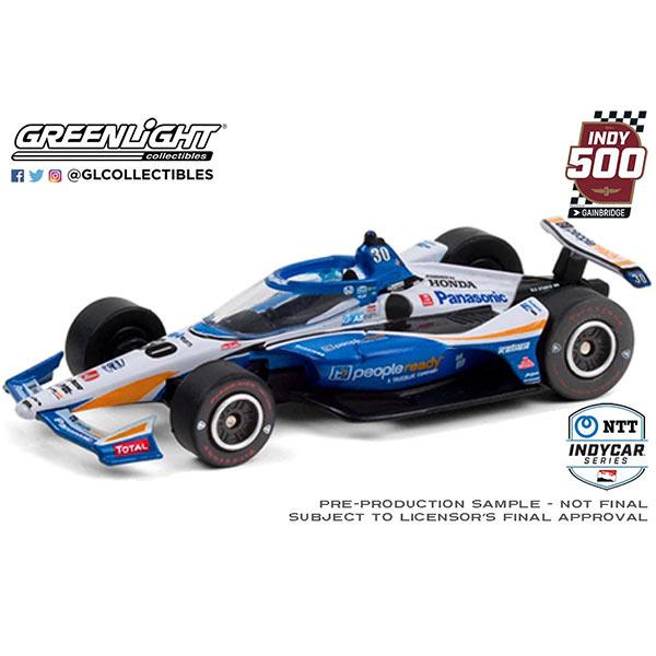GREENLIGHT(グリーンライト)2020 Indy 500 Takuma Sato Winner(2020年インディ500 佐藤琢磨 優勝)ミニカー(1/64)