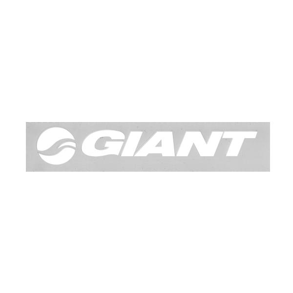 GIANT(ジャイアント)ロゴステッカー(ホワイト / Mサイズ)