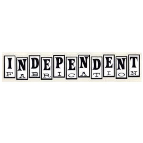 Independent Fabrication(インディペンデント ファブリケーション)ロゴステッカー(ブラック / ホワイト)
