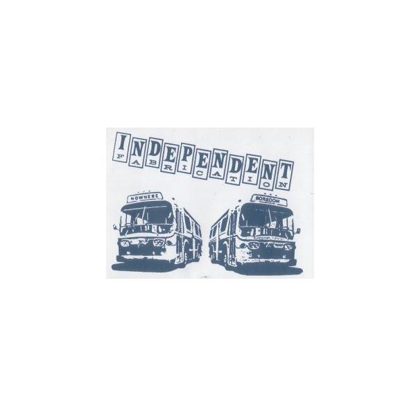 Independent Fabrication(インディペンデント ファブリケーション)ビンテージ イメージステッカー(バス)