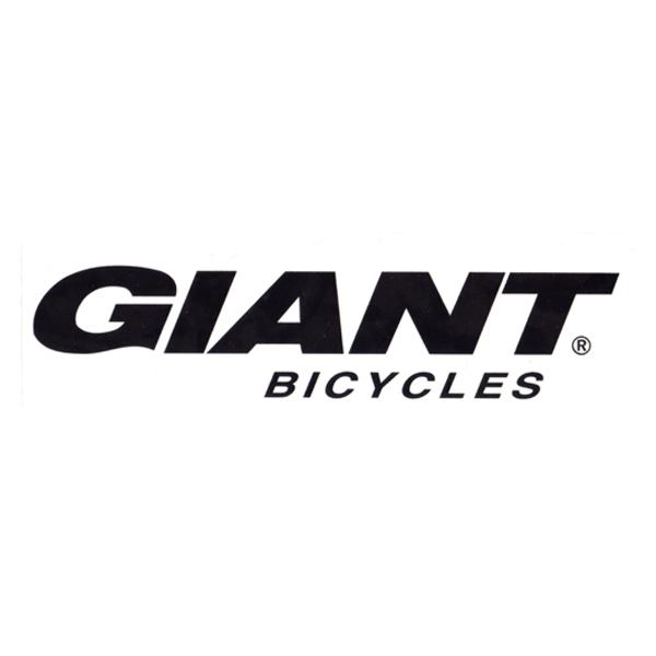 GIANT(ジャイアント)ロゴステッカー(ブラック / Lサイズ)