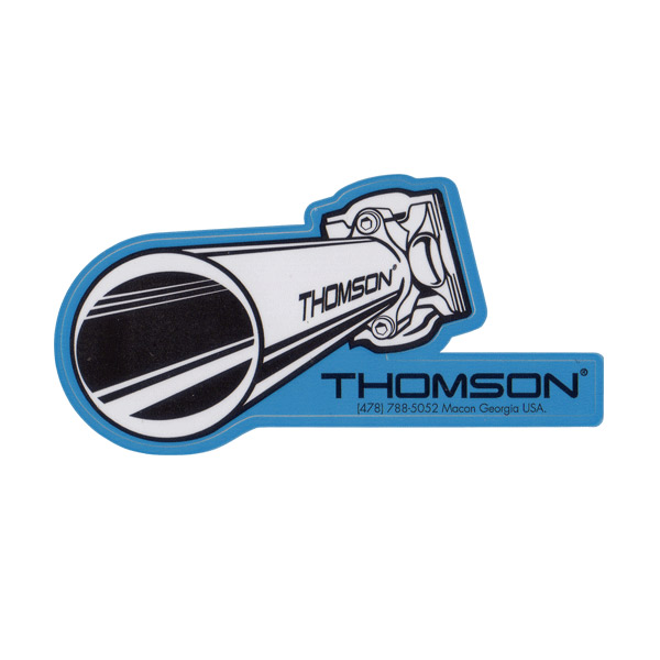 THOMSON(トムソン)ELITE(エリート)シートポスト イラストステッカー(Mサイズ)