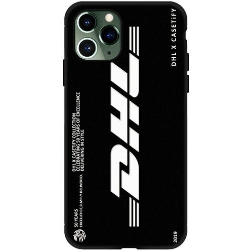 DHL(ディーエイチエル)IPHONE ソフトカバー(Bデザイン / ブラック)