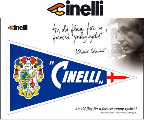 Cinelli(チネリ)OLD FLAG ステッカー