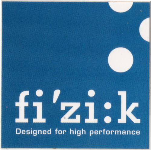 fi'zi:k(フィジーク)ロゴステッカー(ブルー系)