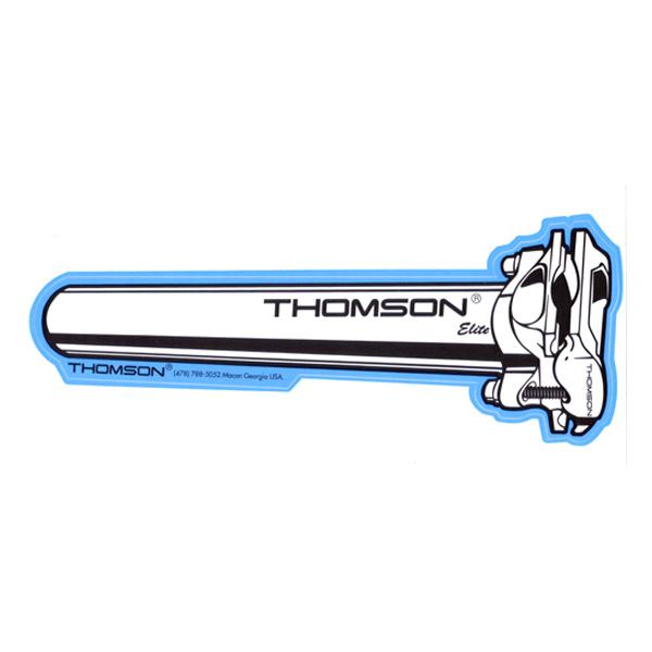 THOMSON(トムソン)ELITE シートポスト イラストステッカー(Lサイズ)