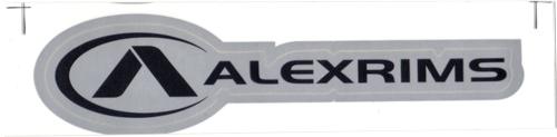 ALEXRIMS(アレックスリムズ)ロゴステッカー(シルバー系)
