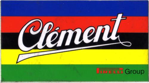 Clement(クレメン)ビンテージロゴステッカー