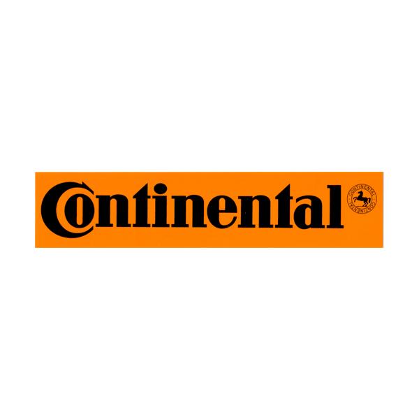 Continental(コンチネンタル)ロゴステッカー(オレンジ)
