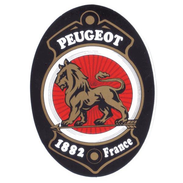 PEUGEOT(プジョー)ビンテージロゴステッカー