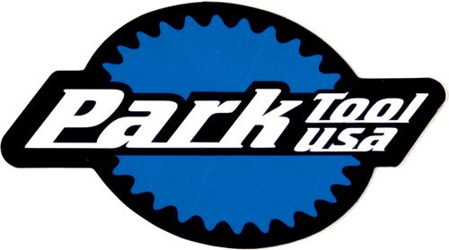 Park Tool(パークツール)ロゴステッカー(Mサイズ)