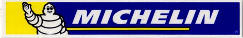 MICHELIN(ミシュラン)ロゴステッカー(ホワイト / ネイビー / イエロー)