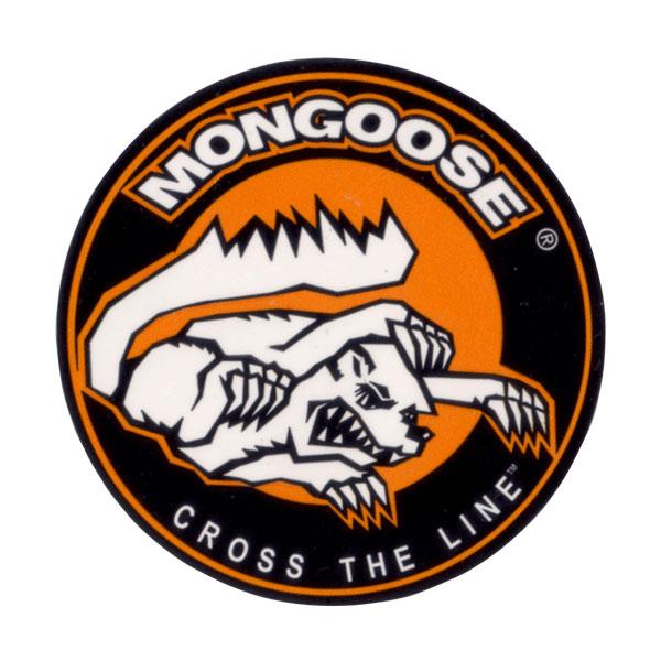MONGOOSE(マングース)ロゴステッカー