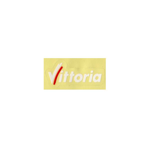Vittoria(ビットリア)ロゴステッカー(ホワイト / Sサイズ)