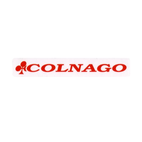 COLNAGO(コルナゴ)ロゴステッカー(レッド)