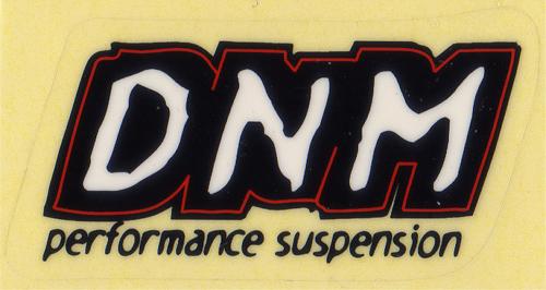 DNM ロゴステッカー(ブラック / ホワイト)