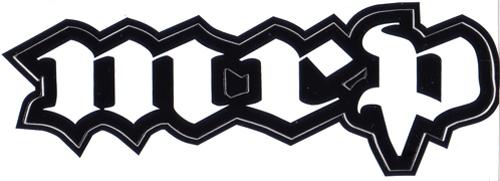 MRP ロゴステッカー(ホワイト / ブラック)