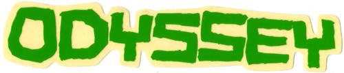 ODYSSEY(オデッセー)ロゴステッカー(グリーン)