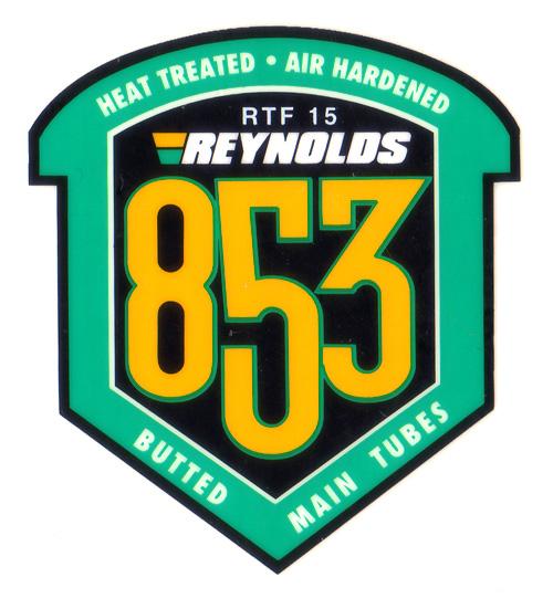 REYNOLDS(レイノルズ)フレームチュービングステッカー(853)