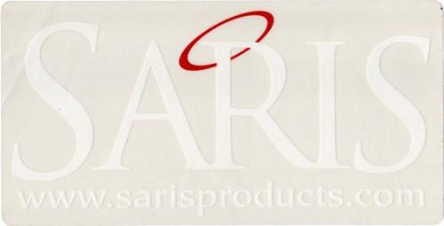 SARIS(サリス)ロゴステッカー(ホワイト)