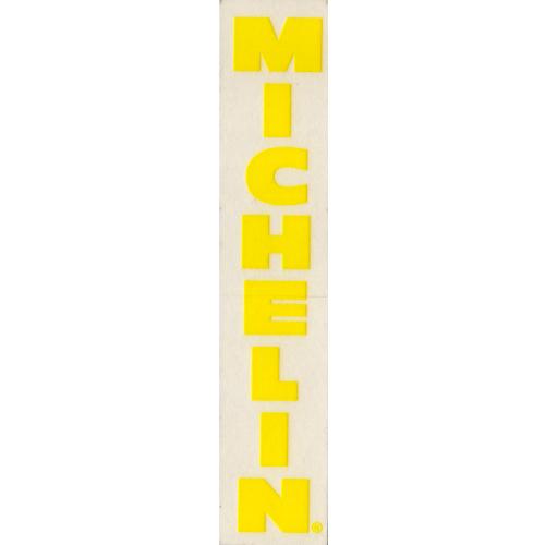 MICHELIN(ミシュラン)ロゴステッカー(縦版 / イエロー)