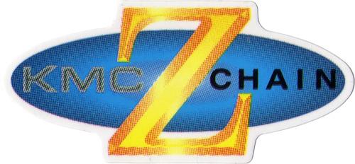 KMC(ケーエムシー)ロゴステッカー(ブルー / イエロー)