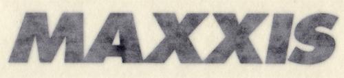MAXXIS(マキシス)ロゴ カッティングステッカー(ブラック)
