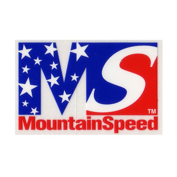 MountainSpeed(マウンテンスピード)ロゴステッカー