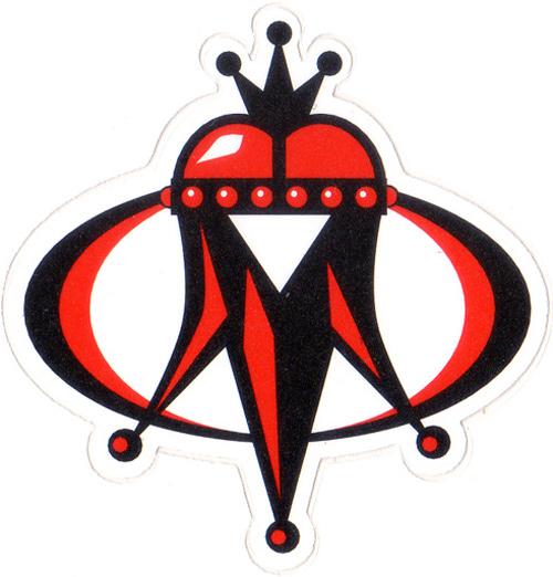 MAXXIS(マキシス)王冠風イメージステッカー