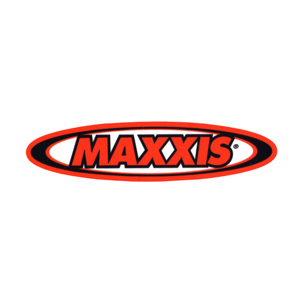 MAXXIS(マキシス)ロゴステッカー(楕円型 / 横幅20cm)