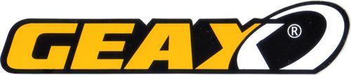 GEAX(ジアックス)ロゴステッカー(Mサイズ)
