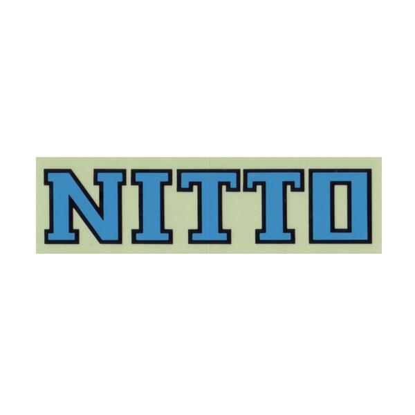 NITTO(日東ハンドル)ロゴステッカー(ブルー)