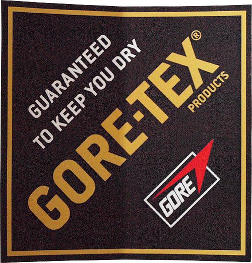 GORE-TEX(ゴアテックス)ロゴステッカー(ブラック / ゴールド / ホワイト)