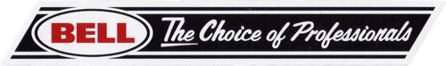 BELL(ベル)ロゴイメージステッカー(The Choice of Professionals)