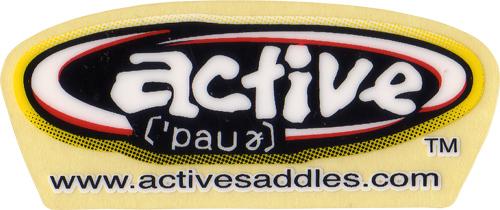 active(アクティブ)ロゴステッカー