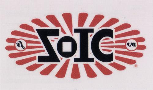 ZOIC(ゾイック)TATTOO(タトゥー)タイプ ステッカー(レッド系 / ホワイト / ブラック)