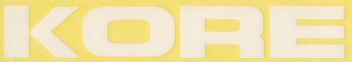 KORE(コア)ロゴステッカー(旧デザイン / ホワイト)