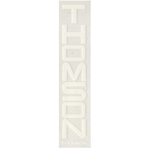 THOMSON(トムソン)ロゴステッカー(ホワイト / 縦タイプ)