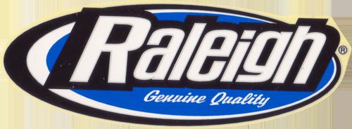 Raleigh(ラーレー)ロゴステッカー(ホワイト / ブラック / ブルー)