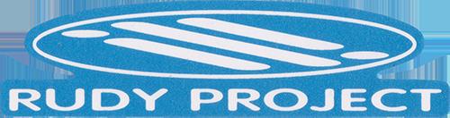 RUDY PROJECT(ルディプロジェクト)ロゴステッカー(ブルー / ホワイト)