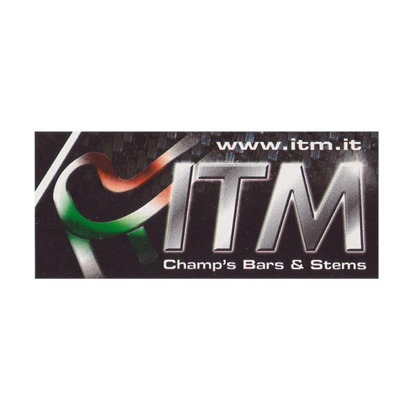ITM(アイティーエム)ロゴステッカー